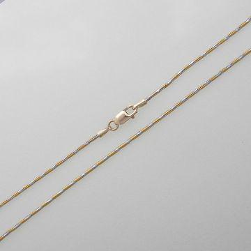 Chain White Yellow Gold 14ct