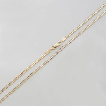 Chain White Yellow Gold 14ct