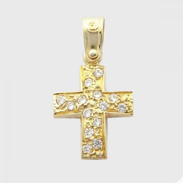 Cross  Yellow Gold 14ct