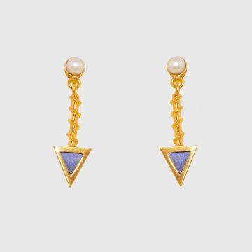 Earrings Gold 18 carat
