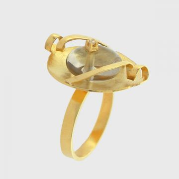 Ring Yellow Gold 18ct with Diamond