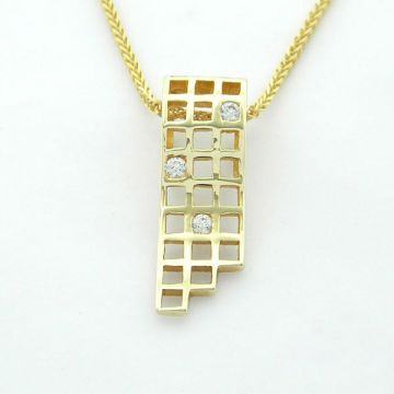 Pendant Yellow Gold 14ct with Chain