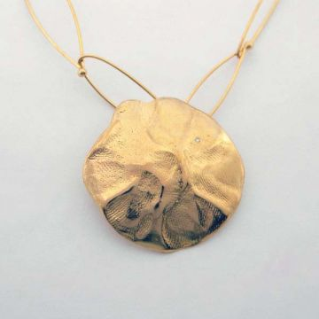 Silver Necklace Gold plated