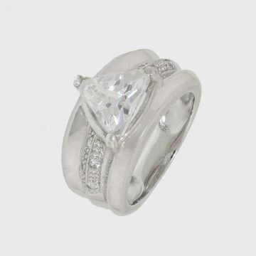 Silver Ring 925 with zircon
