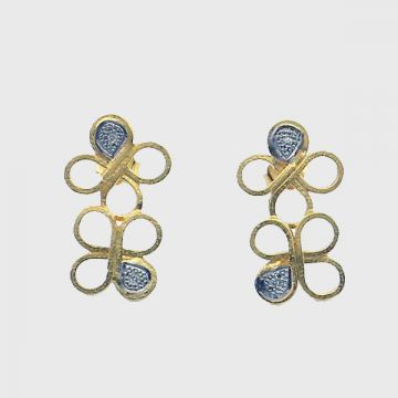 Earrings Yellow  Gold  18 ct