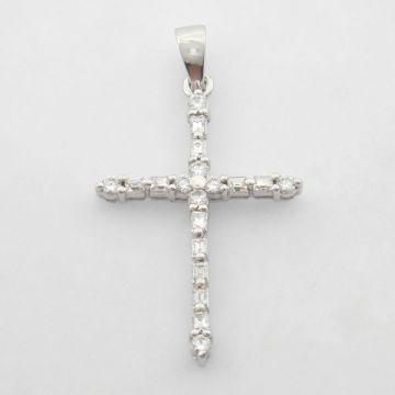 Cross White Gold 14 ct
