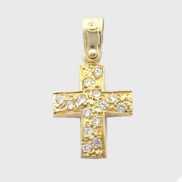 Cross  Yellow Gold 14ct