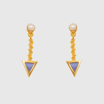 Earrings Gold 18 carat