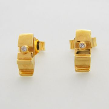 Earrings Yellow Gold 18ct