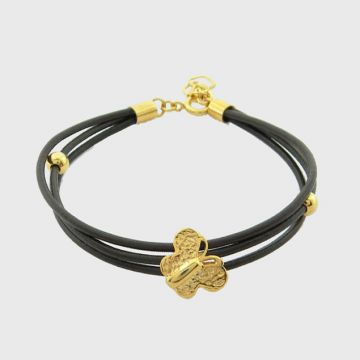 Silver Bracelet Gold plated