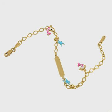 Children Bracelet Yellow Gold 14ct