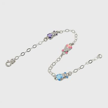 Children Bracelet White Gold 14ct