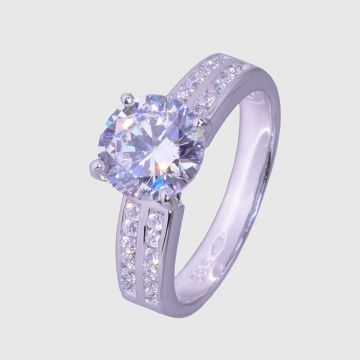 Ring White Gold 14 ct