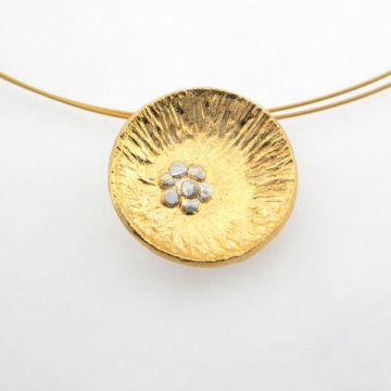 Silver Pendant Goldplated
