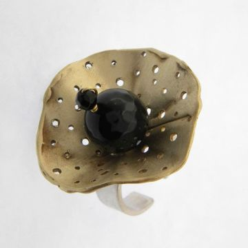 Silver-Bronze Ring