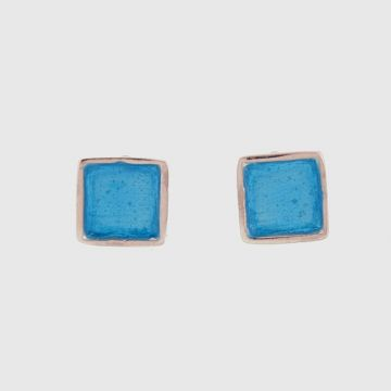 Earrings Silver with Enamel