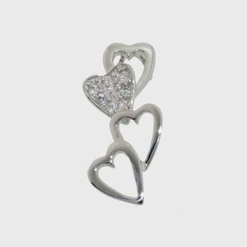 Charm White Gold 14ct