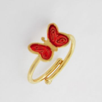 Alloy Ring Gold plated