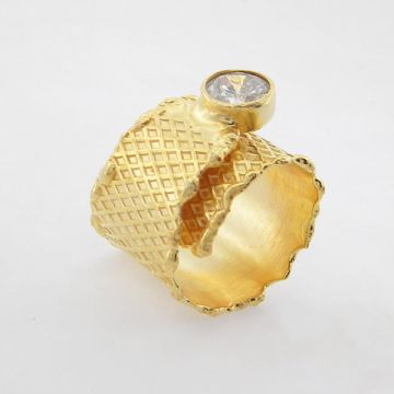 Alloy Ring Goldplated