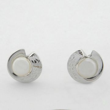 Earrings White Gold 14ct