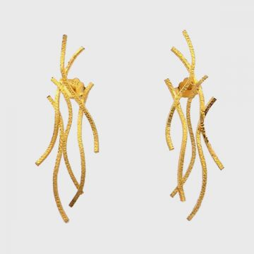 Earrings Yellow  Gold  18ct
