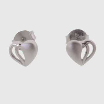 Earrings White Gold 14 carat