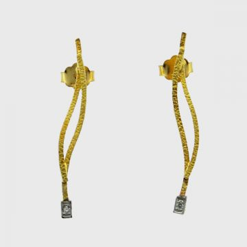 Earrings Yellow  Gold  18 ct