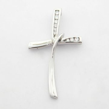 Cross White Gold 14 ct