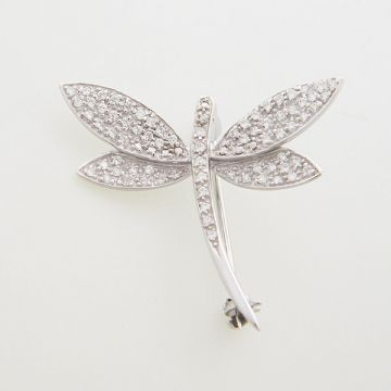 Pin White Gold 14ct