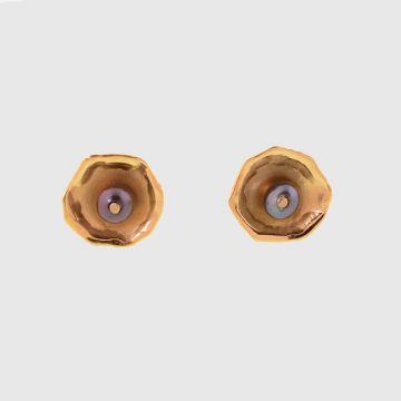 Σκουλαρίκια Κίτρινο Χρυσό 18κτ