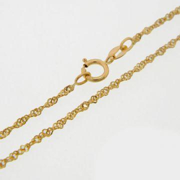 Αλυσίδα Κίτρινη Χρυσή 14κ