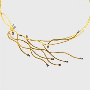 Κολιέ κίτρινος χρυσός 18κ