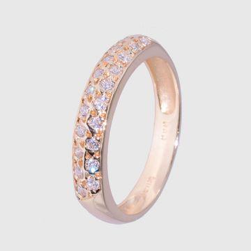 Δαχτυλίδι κίτρινο χρυσό 14κ