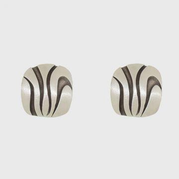 Ασημένια σκουλαρίκια 925 με οξείδωση